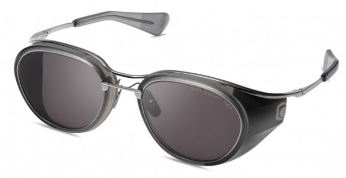 Солнцезащитные очки DITA NACHT-TWO DTS128-52-02 MATTE CRYSTAL GREY - BLACK PALLADIUM