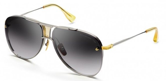Солнцезащитные очки DITA Decade-Two DRX-2082-A-SLV-GLD-62 BLACK PALLADIUM-18K GOLD