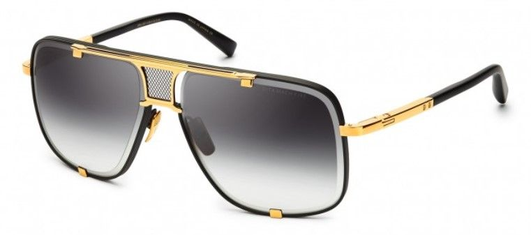 Солнцезащитные очки DITA MACH-FIVE DRX-2087-A-BLK-GLD-64 MATT BLACK - YELLOW GOLD