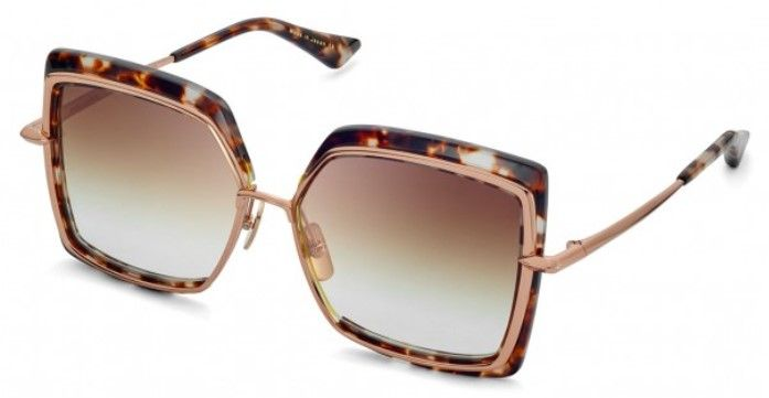 Солнцезащитные очки DITA NARCISSUS DTS503-58-02 CREAM TORTOISE - ROSE GOLD