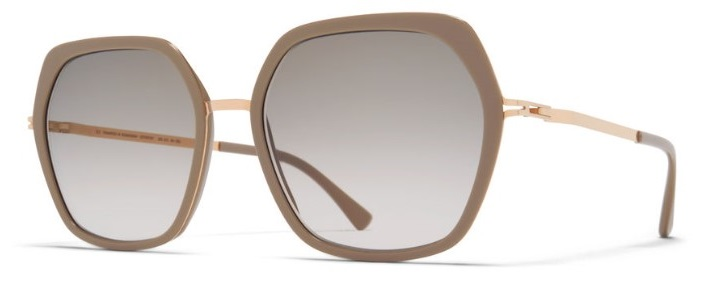 Мед. оправа MYKITA VALDA 832 A42 CHAMPAGNE GOLD/BROWN GREY