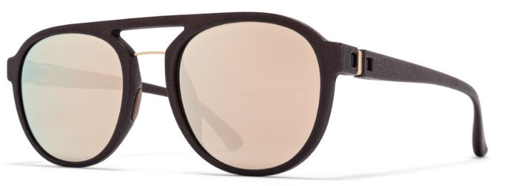 Солнцезащитные очки MYKITA STING 822 MMT1 EBONY BROWN/CHAMPAGNE GOLD