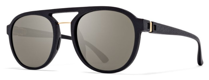 Солнцезащитные очки MYKITA STING 824 MMT3 PITCH BLACK/GLOSSY GOLD