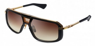Солнцезащитные очки DITA MACH-EIGHT DTS400-A-01 MATTE BLACK - YELLOW GOLD