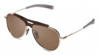 Солнцезащитные очки DITA LANCIER LSA-401 DLS401-60-01 MATTE CRYSTAL BROWN-WHITE GOLD