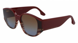 Солнцезащитные очки VICTORIABECKHAM VB605S 605 STRIPED BURGUNDY